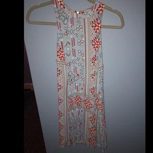 Women's short printed dress